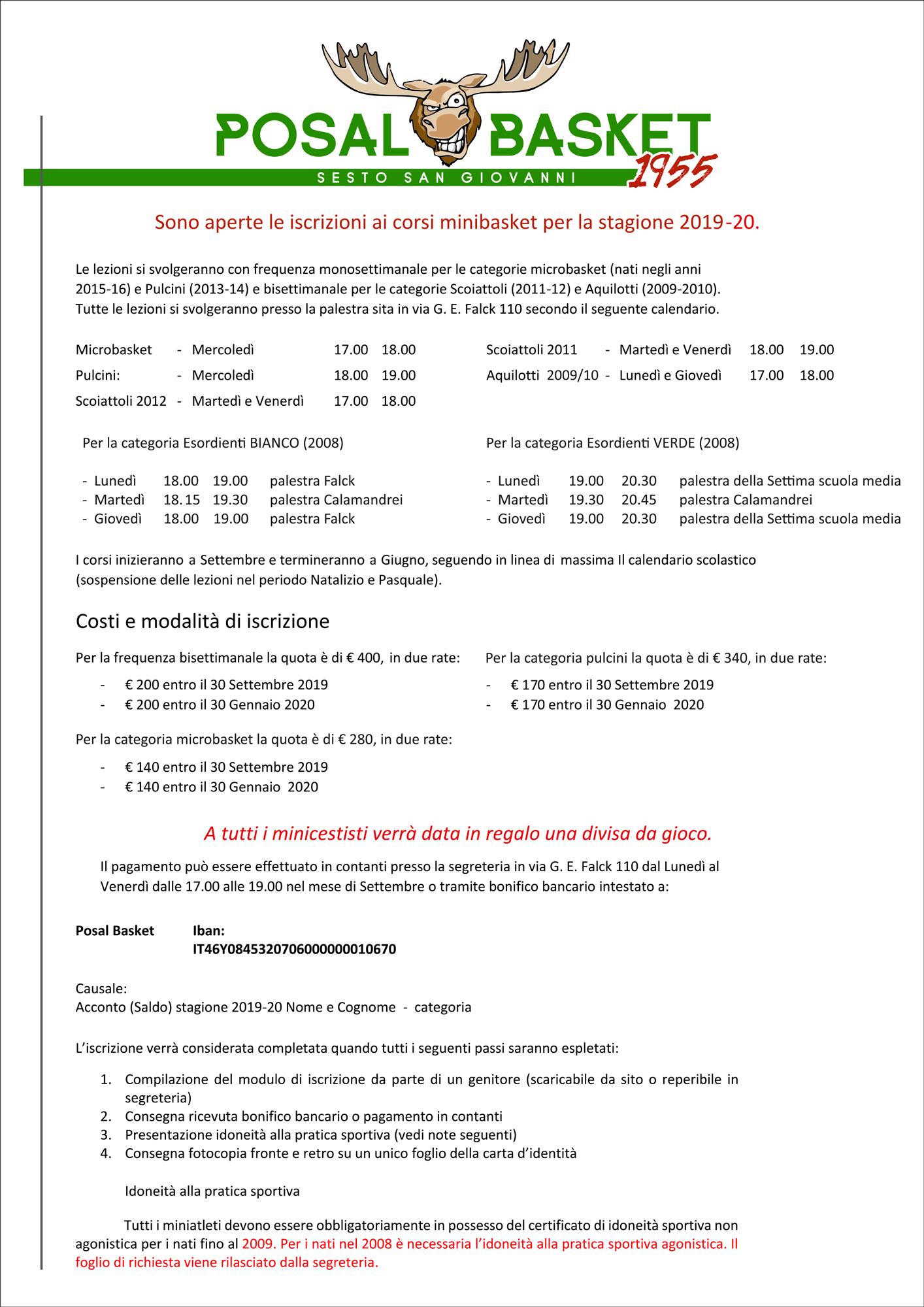 info-costi-minibasket-posal-2019-2020